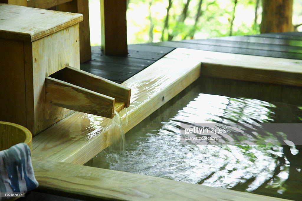 Japanese-style hot spring