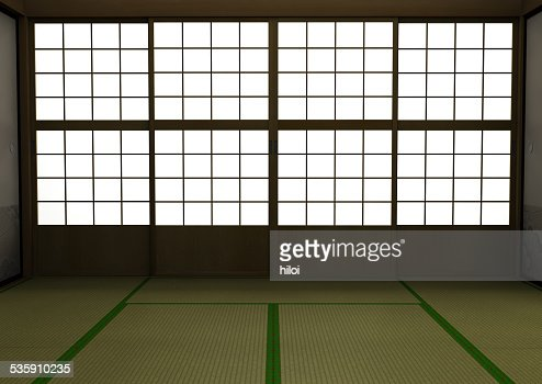 Japanese style room : Stock Photo