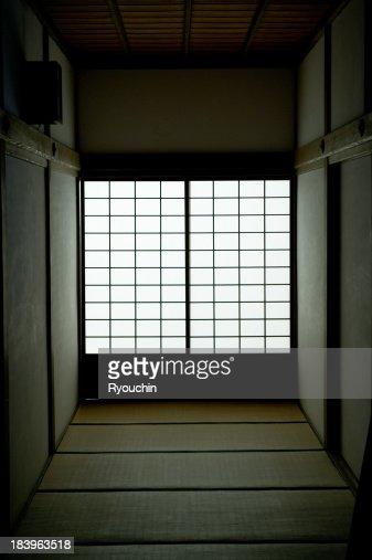 Japanese-style room,A shoji and a tatami