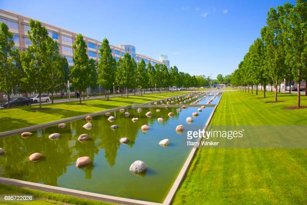 Japanese-style tranquil setting at Cleveland Clinic