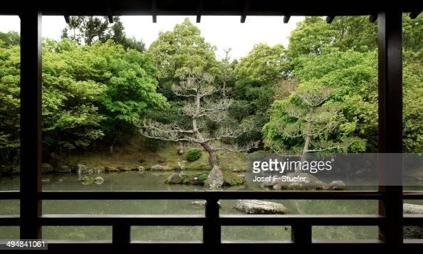 Japanesestyle zen garden inside Hamilton Gardens