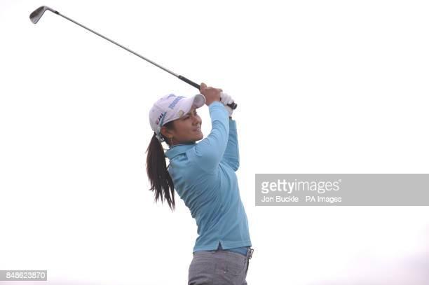 Japan's Ai Miyazato during day three of the Ricoh Women's British Open at the Royal Liverpool Golf Club Hoylake
