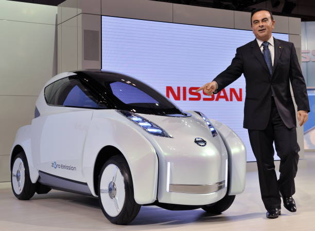 Japans Auto Giant Nissan Motor Presiden Pictures Getty Images