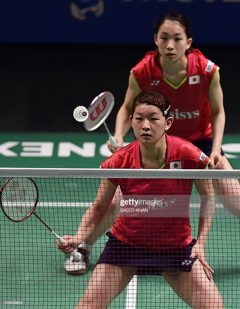 Japan s Ayaka takahashi C and Misaki Matsutomo top pete