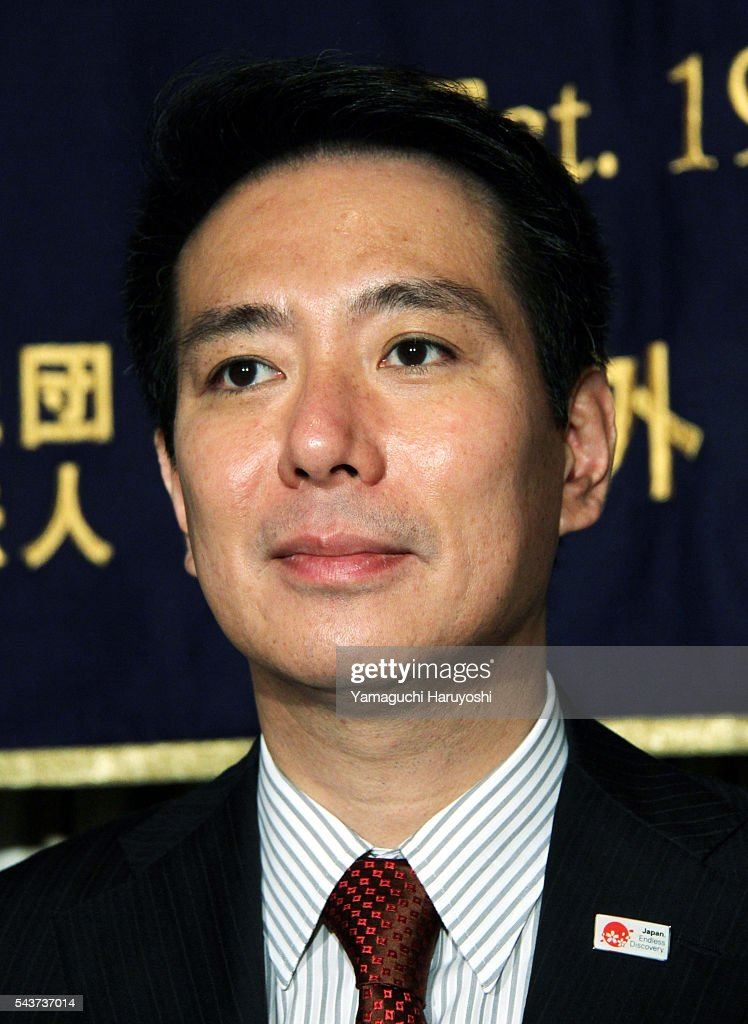 Japan's Foreign Minister Seiji Maehara speaks during a news conference at The Foreign Correspondents' Club of Japan in Tokyo Japan on Tuesday Sep 5...