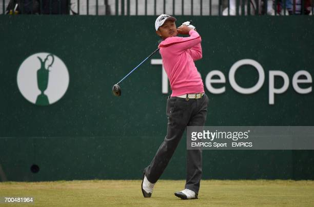 Japan's Hiroshi Iwata during day two of the 2014 Open Championship
