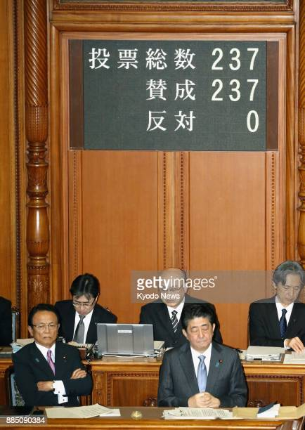 Japan's House of Councillors unanimously adopts a resolution on Dec 4 condemning North Korea's latest testlaunch of an intercontinental ballistic...