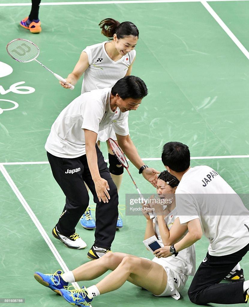 Olympics Matsutomo Takahashi win badminton doubles gold