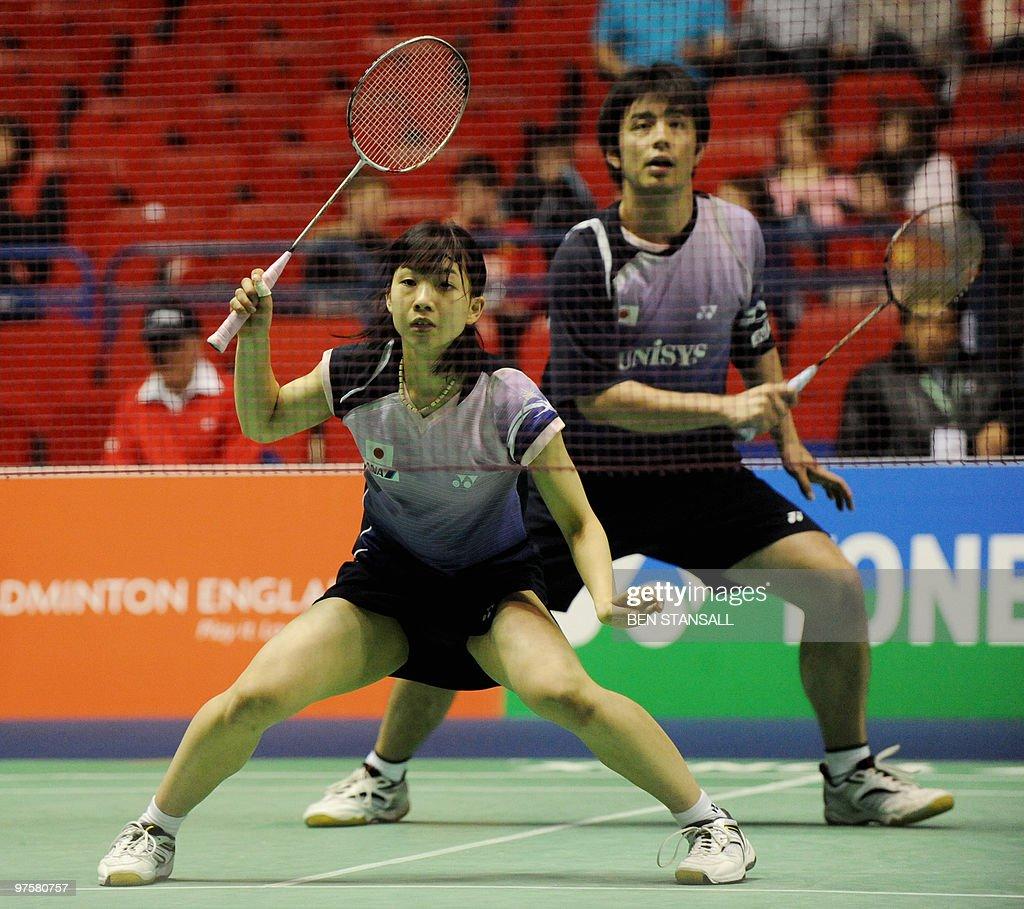 Japan s Misaki Matsutomo L and Kenichi
