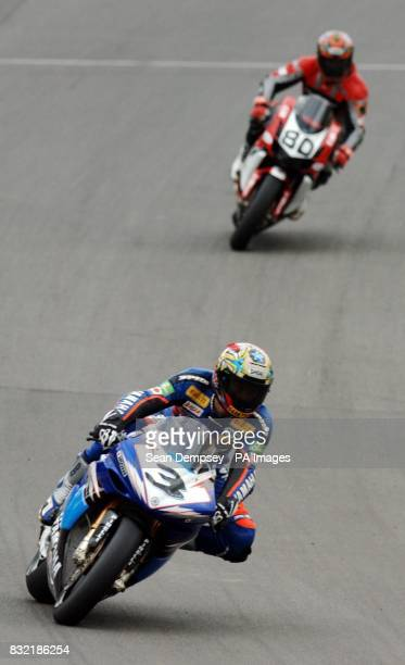 Japan's Norick Abe during a practice session at Brands Hatch