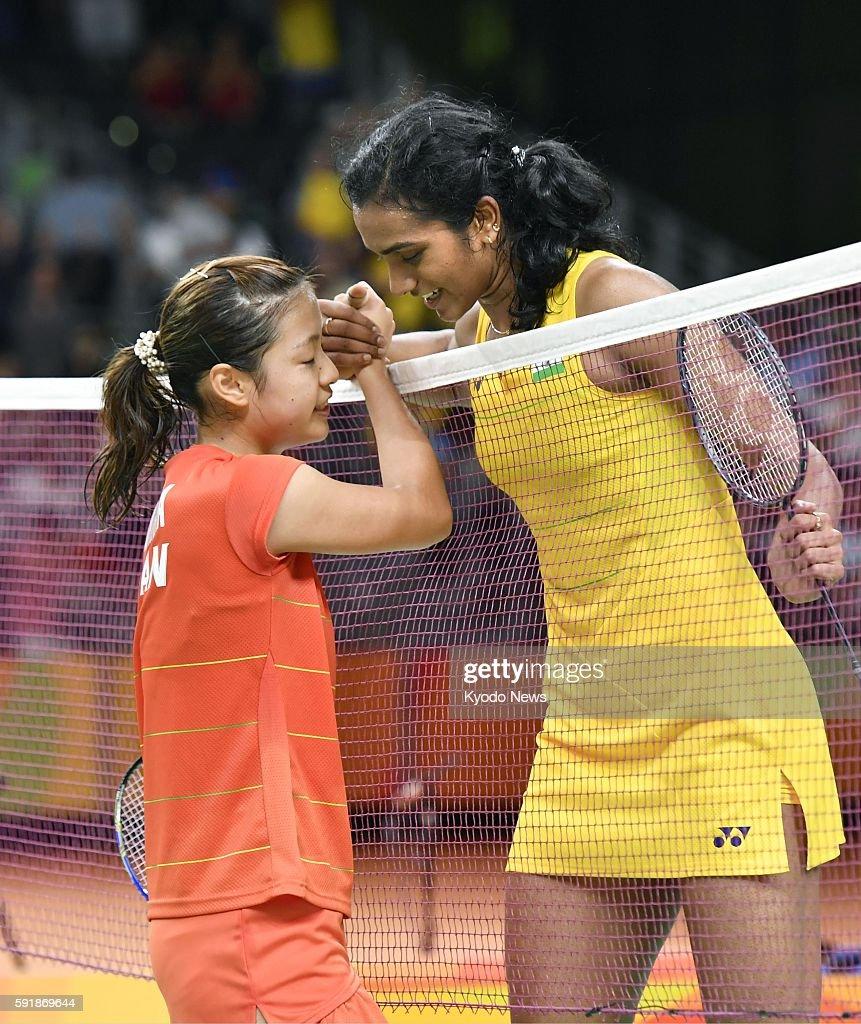 Japan s Okuhara in Rio Olympics badminton singles semifinal