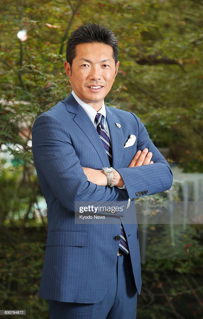 Japan's World Baseball Classic manager Hiroki Kokubo poses for a photo when interviewed in Tokyo on Dec. 1, 2016. After three years of preparation, Kokubo's moment of truth is about to arrive with the WBC in March 2017.