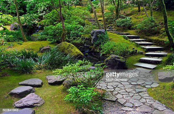 Japenese garden pathway