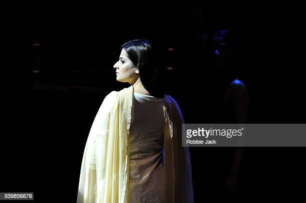 Japjit Kaur in Nirbhaya directed by Yael Farber at Assembly as part of the Edinburgh Festival Fringe