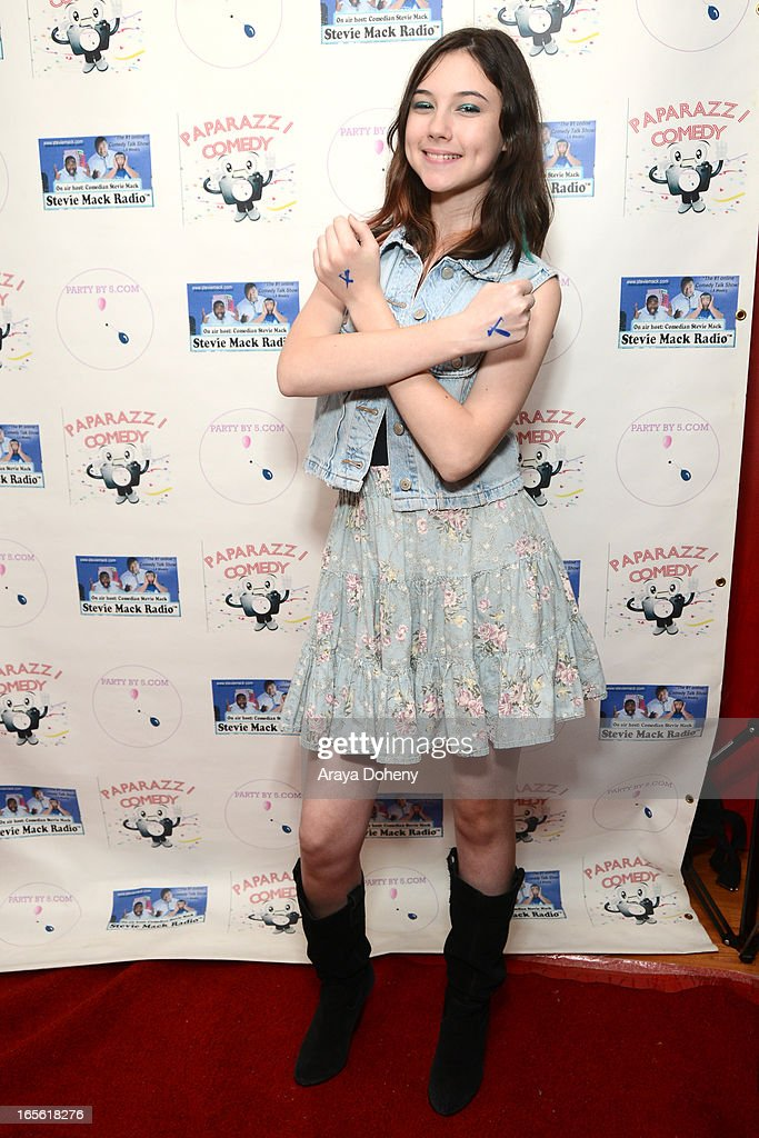 Jaq Mackenzie attends the 3rd Annual Paparazzi Comedy Awards Supporting Autism Awareness on April 4, 2013 in Los Angeles, California.