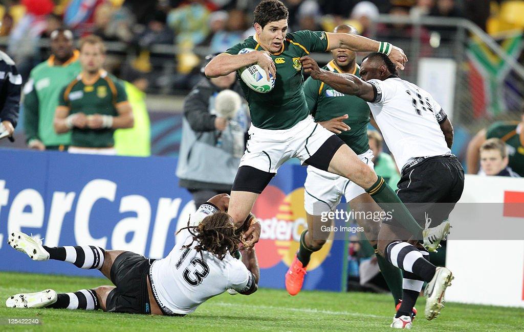 South Africa v Fiji - IRB RWC 2011 Match 15