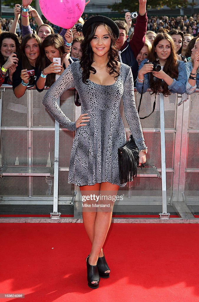 Jaqueline Jossa attends the Radio One Teen Awards at Wembley Arena on October 7, 2012 in London, England.