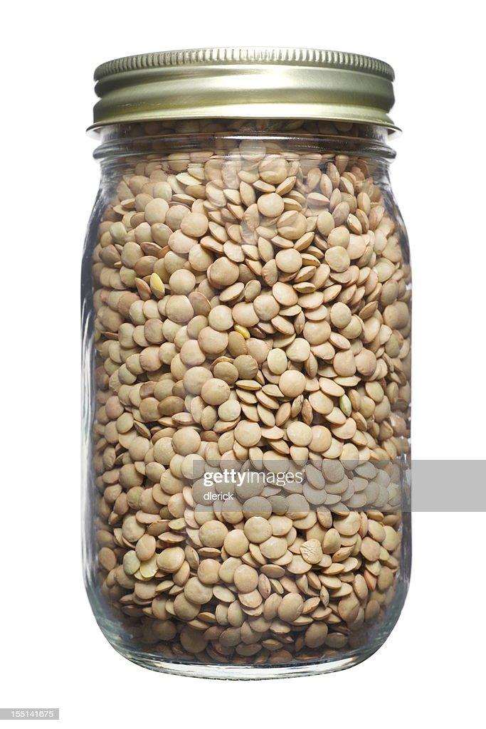 Jar of Lentils
