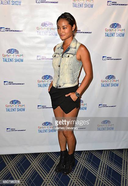 Jarah Mariano attends the 2014 Garden Of Dreams Foundation Talent Show at Radio City Music Hall on June 17 2014 in New York City