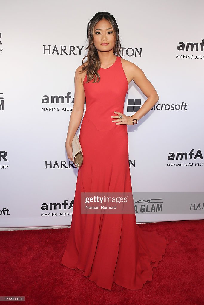 Jarah Mariano attends the 2015 amfAR Inspiration Gala New York at Spring Studios on June 16, 2015 in New York City.