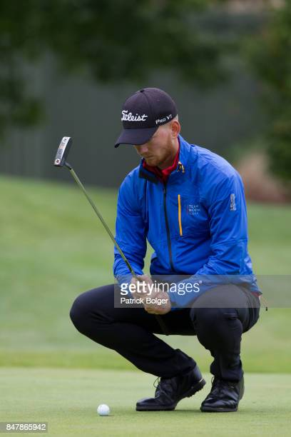 Jarand Ekeland Arnoy from Norway during the third round of the 2017 Irish Challenge at Mount Wolseley Hotel Spa and Golf Resort on September 16 2017...