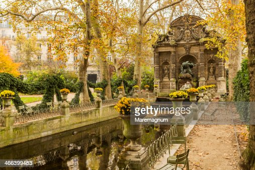 Jardin du luxembourg stock photo getty images for Ca vient du jardin