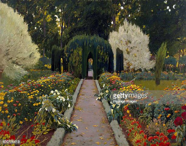 Jardín de Aranjuez Glorieta II Found in the collection of Museo Nacional Centro de Arte Reina Sofía Madrid
