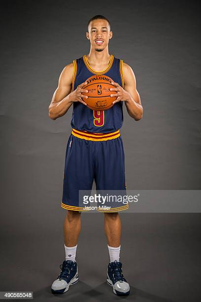 Jared Cunningham of the Cleveland Cavaliers during the Cleveland Cavaliers media day at Cleveland Clinic Courts on September 28 2015 in Independence...