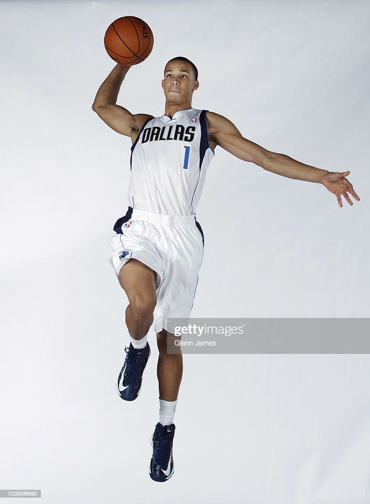 Jared Cunningham #1 of the Dallas Mavericks poses for a photo during the Dallas Mavericks Media Day on September 28, 2012 at the American Airlines Center in Dallas, Texas.