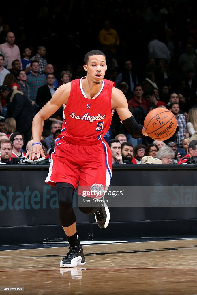 <a gi-track='captionPersonalityLinkClicked' href=/galleries/search?phrase=Jared+Cunningham&family=editorial&specificpeople=6549470 ng-click='$event.stopPropagation()'>Jared Cunningham</a> #9 of the Los Angeles Clippers drives against the Washington Wizards at the Verizon Center on December 12, 2014 in Washington, DC.