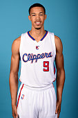 Jared Cunningham of the Los Angeles Clippers poses for a portrait during the Los Angeles Clippers Media Day at the Los Angeles Clippers Training...