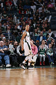 Jared Cunningham of the Milwaukee Bucks looks on during the game against the Utah Jazz on March 20 2016 at the BMO Harris Bradley Center in Milwaukee...