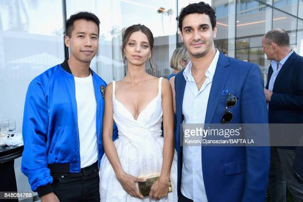 Jared Eng Angela Sarafyan and Elyes Gabel attend the BBC America BAFTA Los Angeles TV Tea Party 2017 at The Beverly Hilton Hotel on September 16 2017...