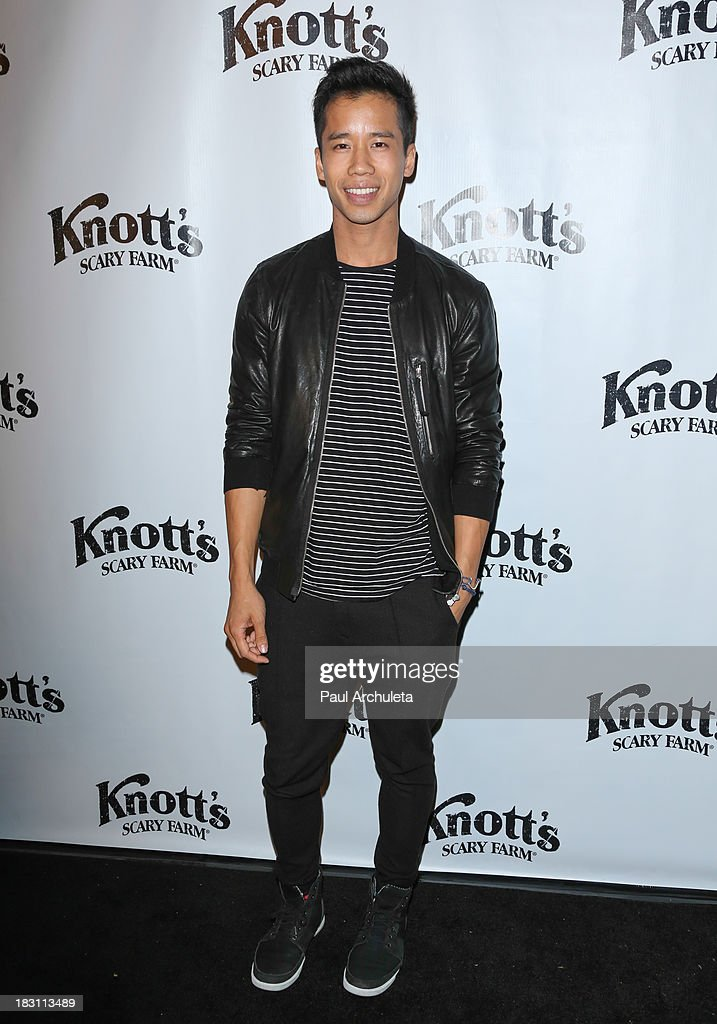 Jared Eng founder of the Just Jared wes site attends the VIP opening of Knott's Scary Farm HAUNT at Knott's Berry Farm on October 3, 2013 in Buena Park, California.