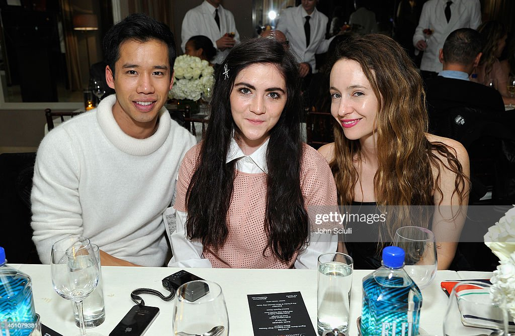 Jared Eng, <a gi-track='captionPersonalityLinkClicked' href=/galleries/search?phrase=Isabelle+Fuhrman&family=editorial&specificpeople=4117599 ng-click='$event.stopPropagation()'>Isabelle Fuhrman</a> and Jenni Kayne attend the relaunch of 'The Zoe Report' Hosted by FIJI Water at the Sunset Tower Hotel on November 20, 2013 in Los Angeles, California.