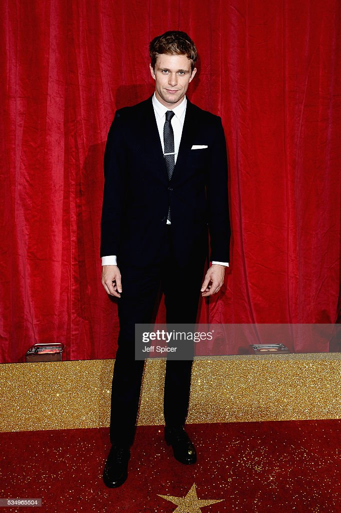Jared Garfield attends the British Soap Awards 2016 at Hackney Empire on May 28, 2016 in London, England.