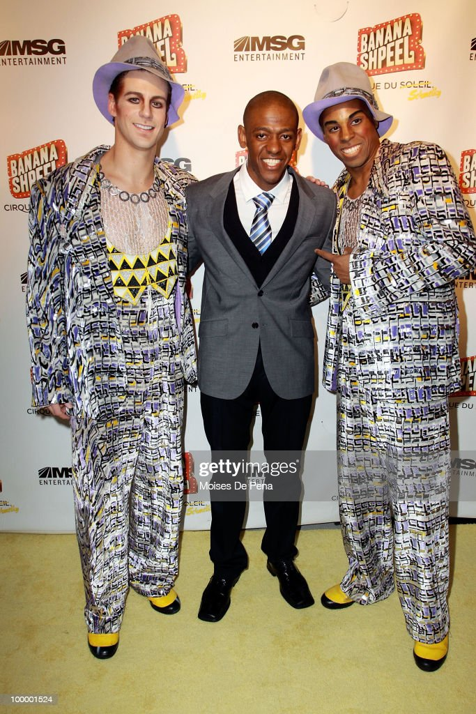 Jared Grimes attends the opening night of Cirque du Soleil's 'Banana Shpeel' at the Beacon Theatre on May 19, 2010 in New York City.