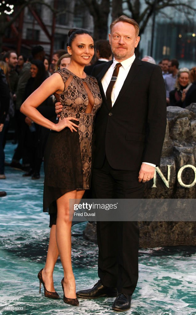 <a gi-track='captionPersonalityLinkClicked' href=/galleries/search?phrase=Jared+Harris&family=editorial&specificpeople=228170 ng-click='$event.stopPropagation()'>Jared Harris</a> and Allegra Riggio attend the UK film premiere of 'Noah' at Odeon Leicester Square on March 31, 2014 in London, England.