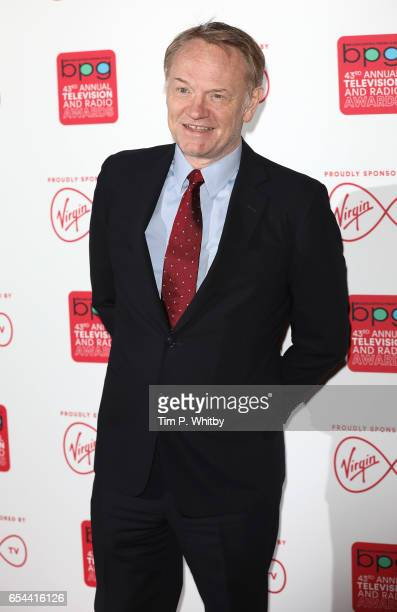 Jared Harris attends the Broadcasting Press Guild Television Radio Awards at Theatre Royal on March 17 2017 in London England