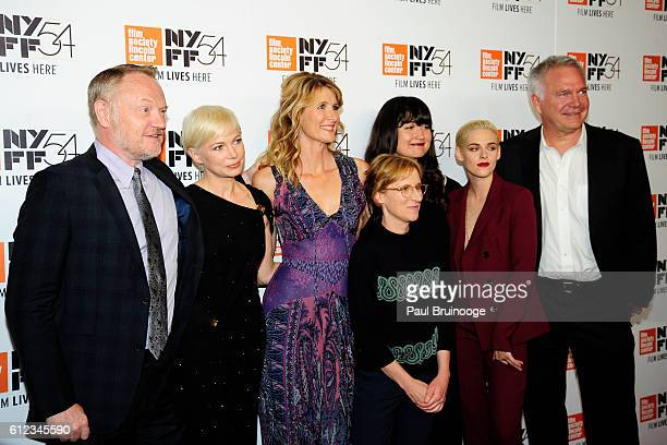 Jared Harris Michelle Williams Laura Dern Kelly Reichardt Lily Gladstone and Kristen Stewart attends the 54th New York Film Festival 'Certain Women'...