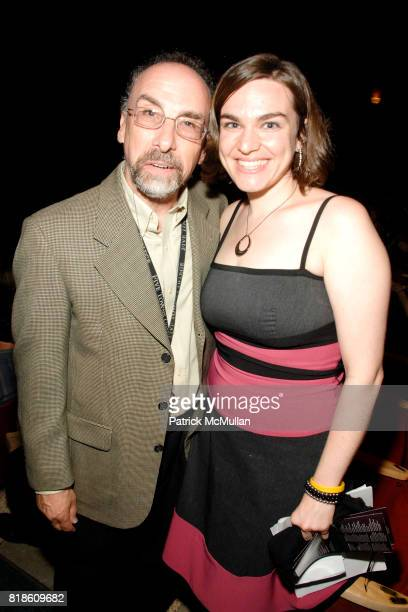 Jared Hershkowitz and Emileena Pedigo attend Opening of A Moment in Time by Stewart F Lane at Performing Arts Center on June 25 2010 in Dix Hills New...
