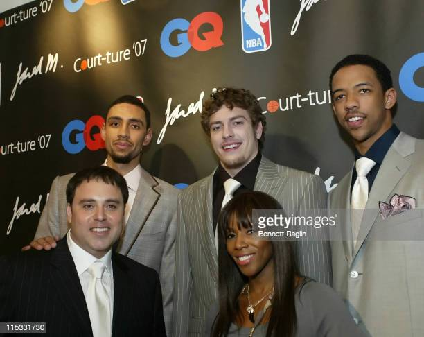 Jared Jefferies David Lee Channing Frye Jared M and June Ambrose