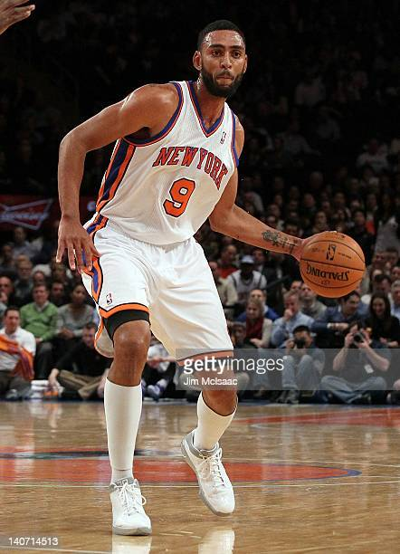 Jared Jeffries of the New York Knicks in action against the Phoenix Suns on January 18 2012 at Madison Square Garden in New York City The Suns...