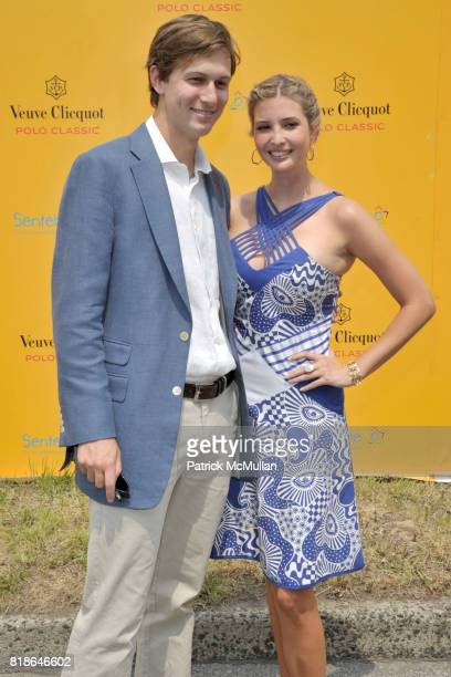 Jared Kushner and Ivanka Trump attend 2010 VEUVE CLICQUOT Polo Classic at Governors Island on June 27 2010 in New York City