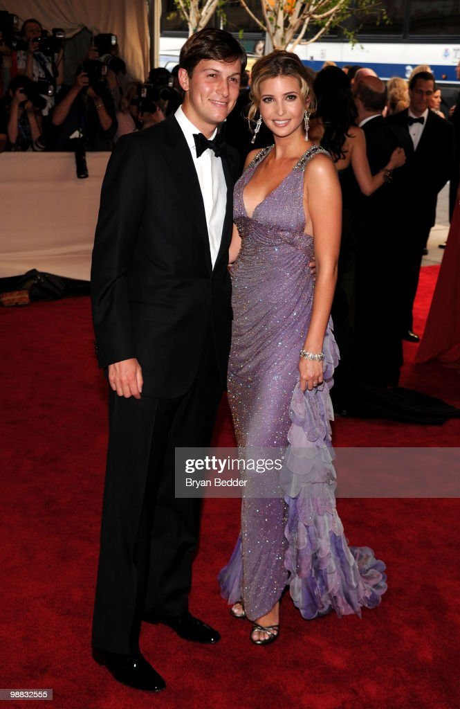 Jared Kushner and <a gi-track='captionPersonalityLinkClicked' href=/galleries/search?phrase=Ivanka+Trump&family=editorial&specificpeople=159375 ng-click='$event.stopPropagation()'>Ivanka Trump</a> attend the Metropolitan Museum of Art's 2010 Costume Institute Ball at The Metropolitan Museum of Art on May 3, 2010 in New York City.