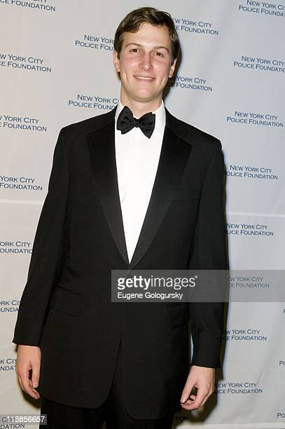 Jared Kushner attends The 30th Annual New York City Police Foundation Gala March 11 2008 at the Waldorf Astoria in New York City