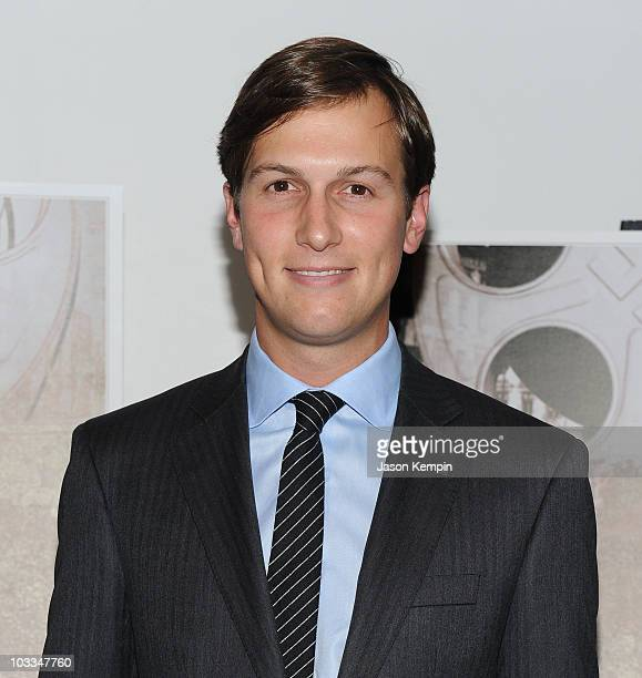 Jared Kushner attends the premiere of 'A Film Unfinished' at MOMA Celeste Bartos Theater on August 11 2010 in New York City