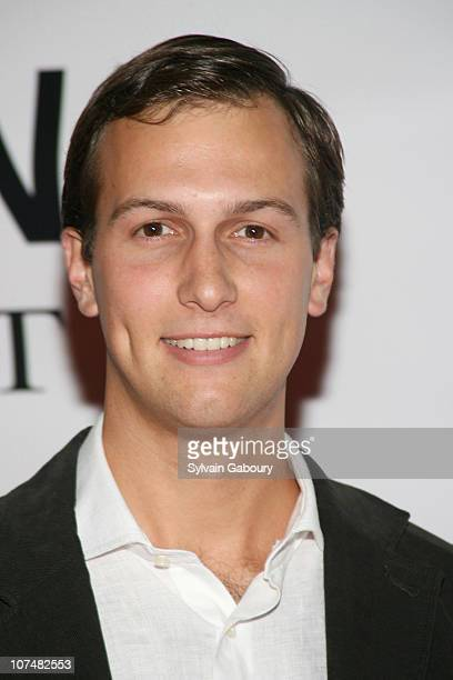 Jared Kushner during 2006 MTV Video Music Awards Dripping in Whiteflashcom Diamonds PreVMA Party Arrivals at Cipriani in New York New York United...