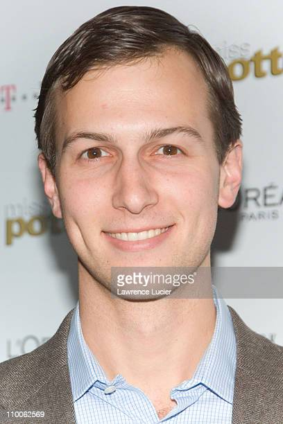 Jared Kushner during Miss Potter New York Premiere Inside Arrivals at DGA Theater in New York City New York United States