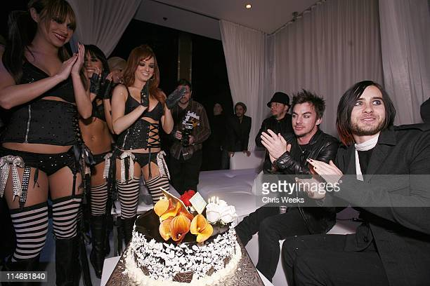 Jared Leto and Las Vegas Pussycat Dolls *EXCLUSIVE*